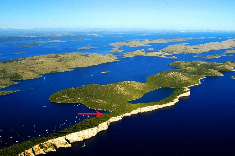 Luxury real estate Croatia, Farkaš, for sale, house on the sea, Dugi otok, 2