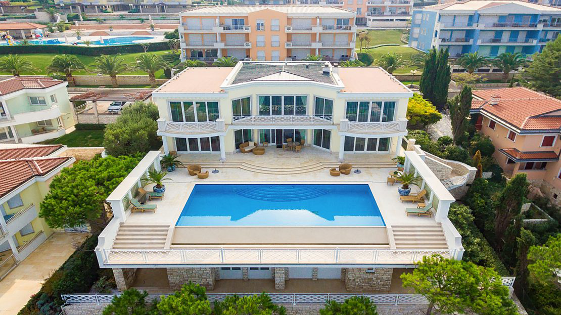 Luxury villas Croatia, Istria, Farkaš, for sale, high class villa in golf resort, Umag, 7
