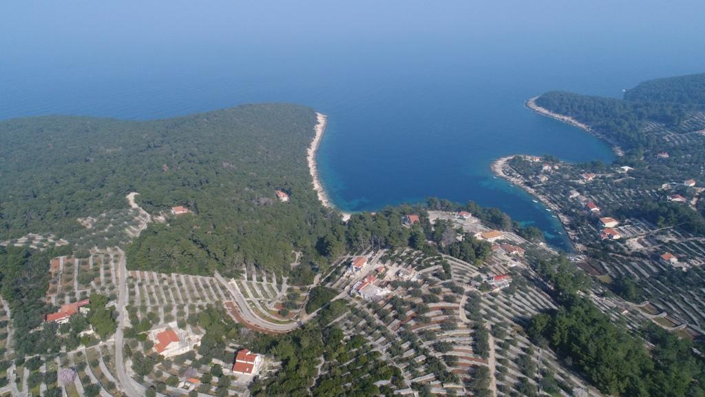 Luxus immobilien Dalmatien Farkaš, zu verkaufen, bau land, erster Reihe zum Meer, insel Korčula, 8.
