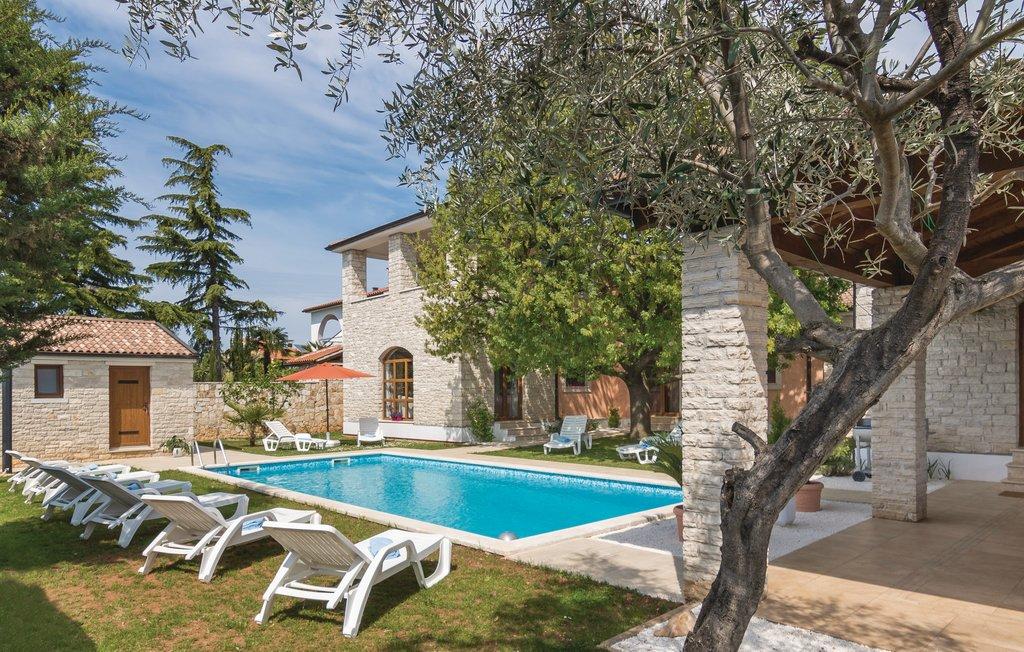 Luxus immobilien agentur Farkaš, zu verkaufen, stein villa, 300 m von strandt, Pula, Istrien, Kroatien, 16