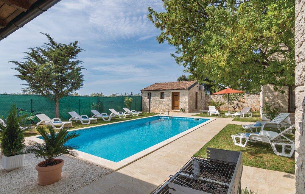 Luxus immobilien agentur Farkaš, zu verkaufen, stein villa, 300 m von strandt, Pula, Istrien, Kroatien, 17