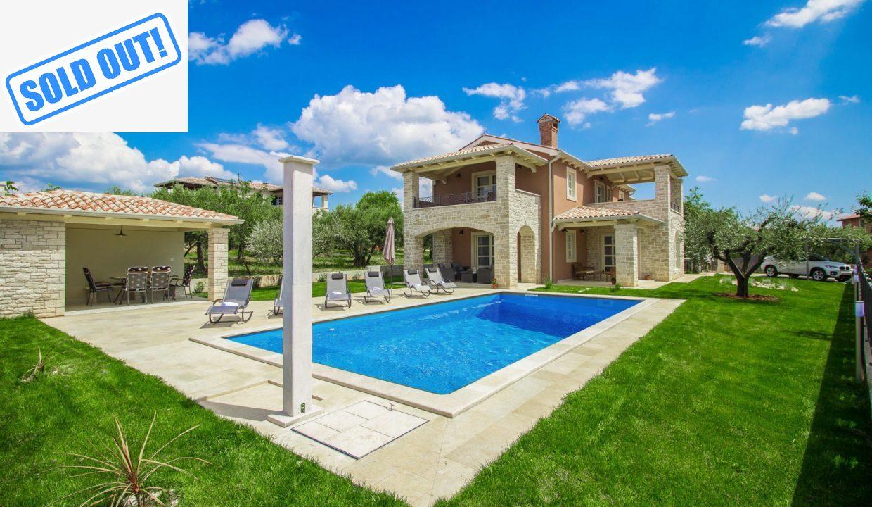Luxus villa neben Poreč verkauft von Luxusimmobilien Istrien Farkaš