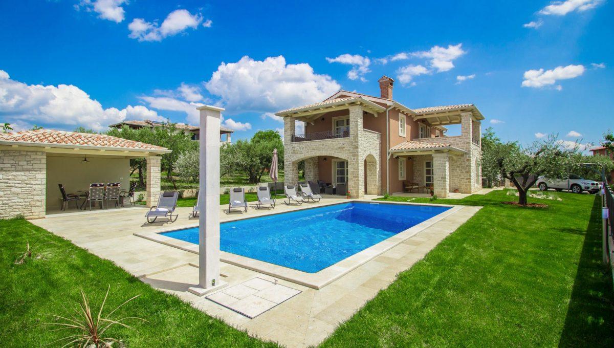 Luxusvillen Kroatien, Istrien, Farkaš, zu verkaufen, villa mit pool, Kaštelir, 1