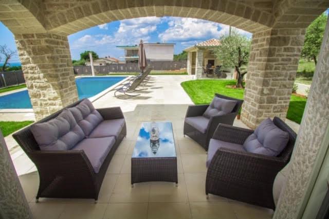 Luxusvillen Kroatien, Istrien, Farkaš, zu verkaufen, villa mit pool, Kaštelir, 6