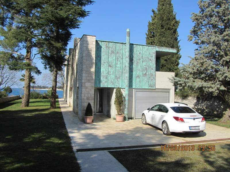 Villas on the sea Croatia, Farkaš, for sale villa with private beach, Umag, 3