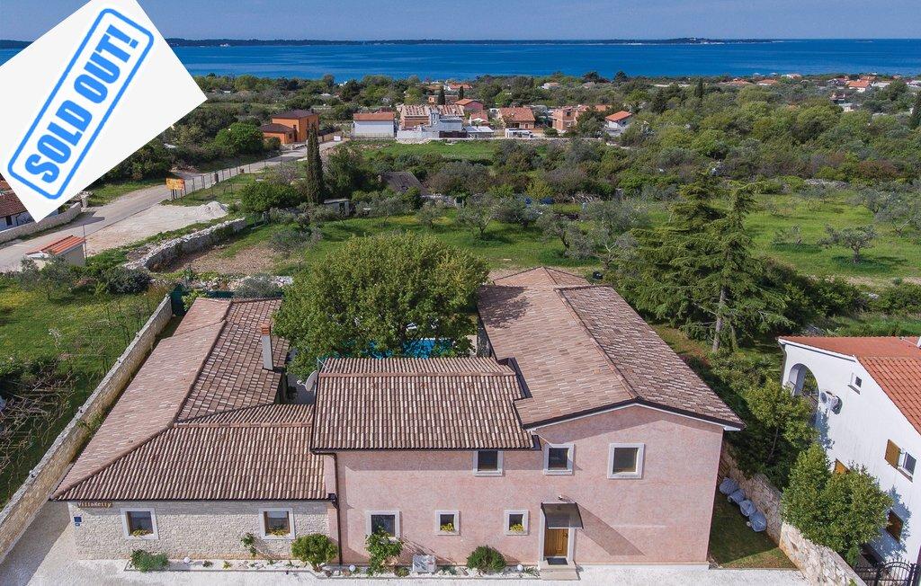 Luxusimmobilien Kroatien, Farkaš verkauft Villa mit Pool, Fažana