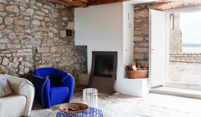 Istrische Häuser Farkaš, Steinhaus zum Verkauf erste Reihe vom Meer, Novigrad, 12
