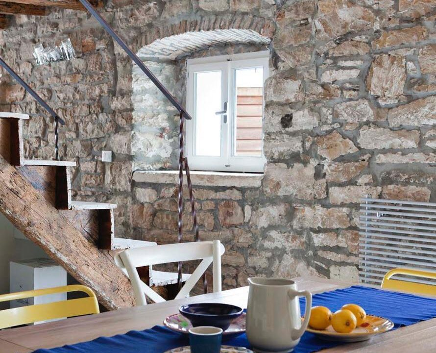 Istrische Häuser Farkaš, Steinhaus zum Verkauf erste Reihe vom Meer, Novigrad, 9