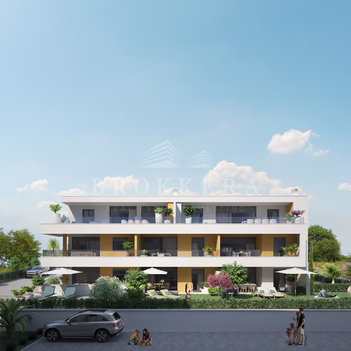 Luxuswohnungen Istrien Farkaš verkauft Wohnung mit wunderschönem Meerblick, Novigrad
