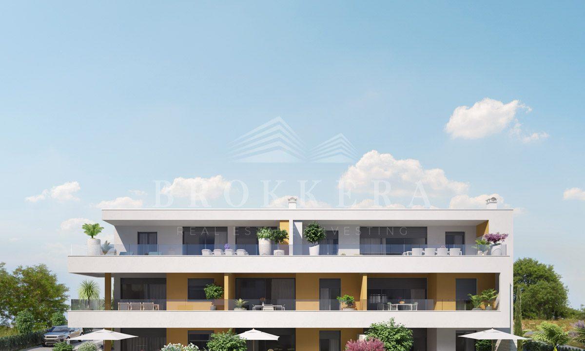 Wohnungen zu verkaufen istrien, neue wohnung in novigrad, 1