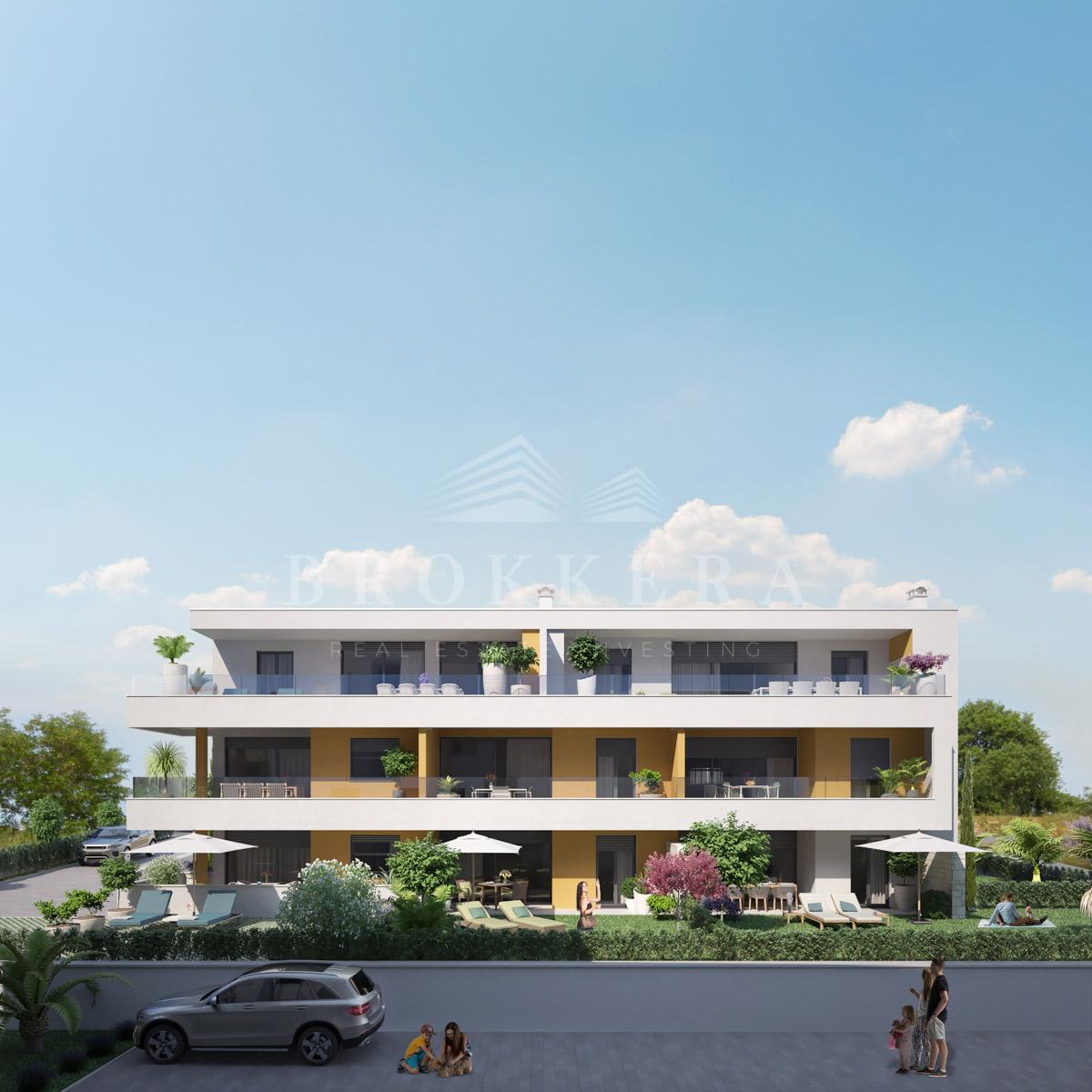 Luxury apartments Istria Farkaš sell apartment with beautiful sea view, Novigrad