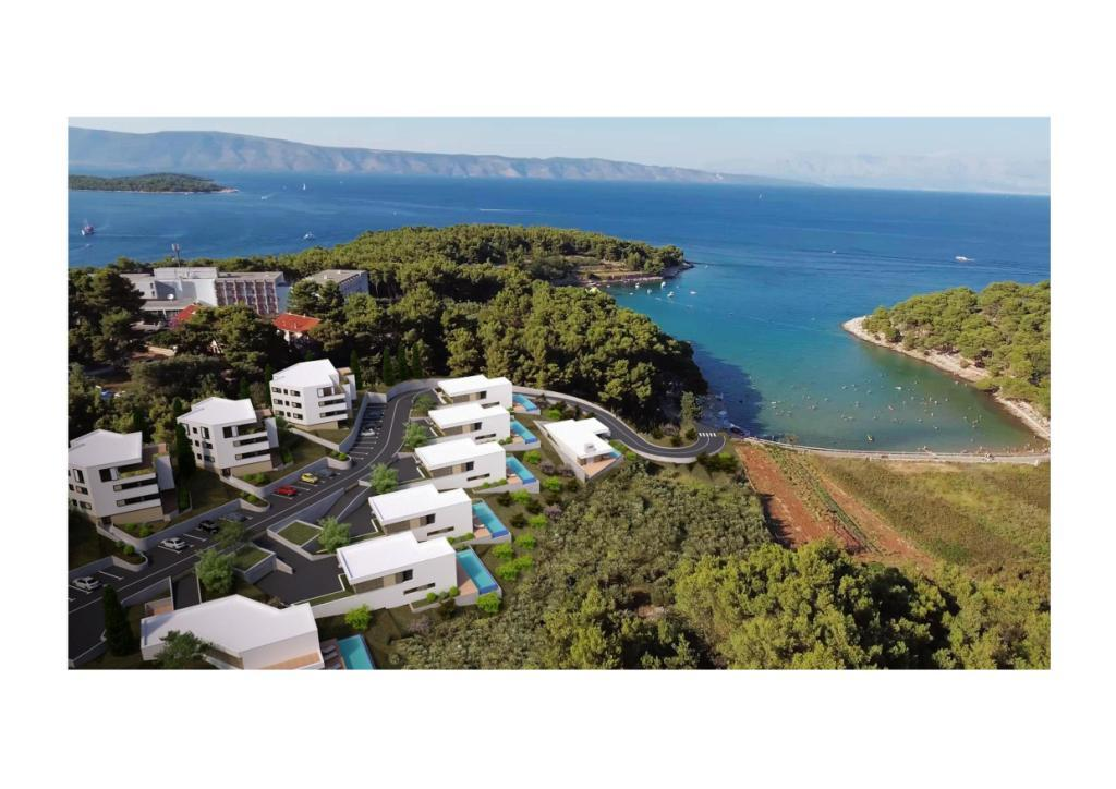 Luxury villas Dalmatia Farkaš sell project on island Hvar