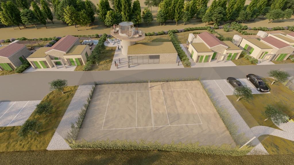 Luxus immobilie Farkaš, zu verkaufen, schöness land mit projekt, rakalj, pula, istrien, kroatien, 5