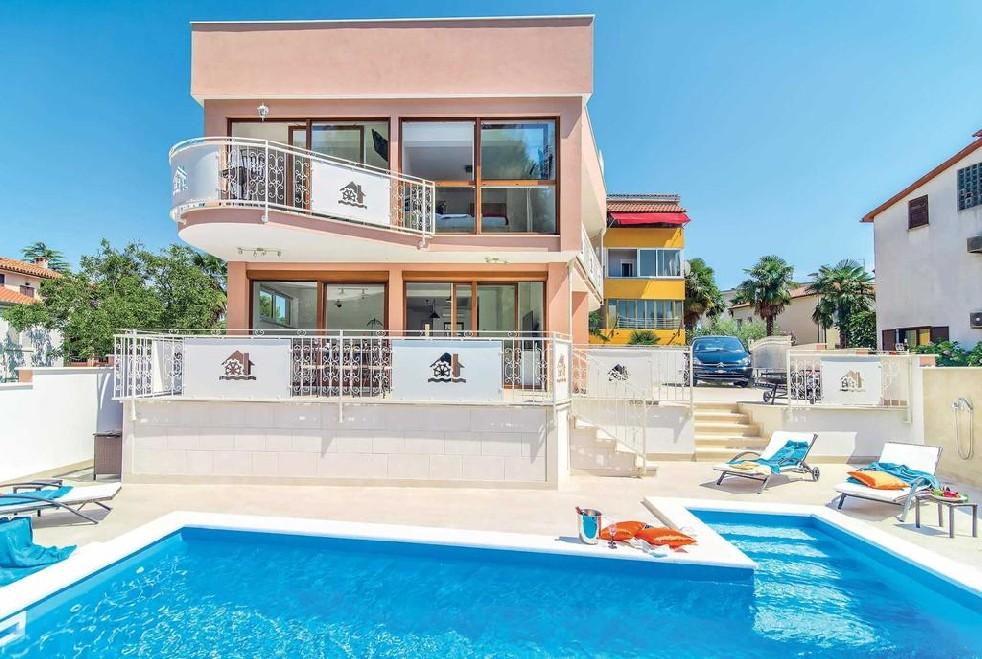 Luxus villen novigrad farkaš, zu verkaufen villa mit pool, novigrad stadt zentrum, 2