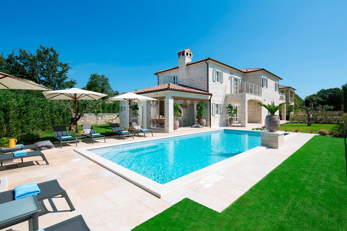 Stone villas Istria farkaš is selling a new stone villa with pool for sale, poreč, surroundings