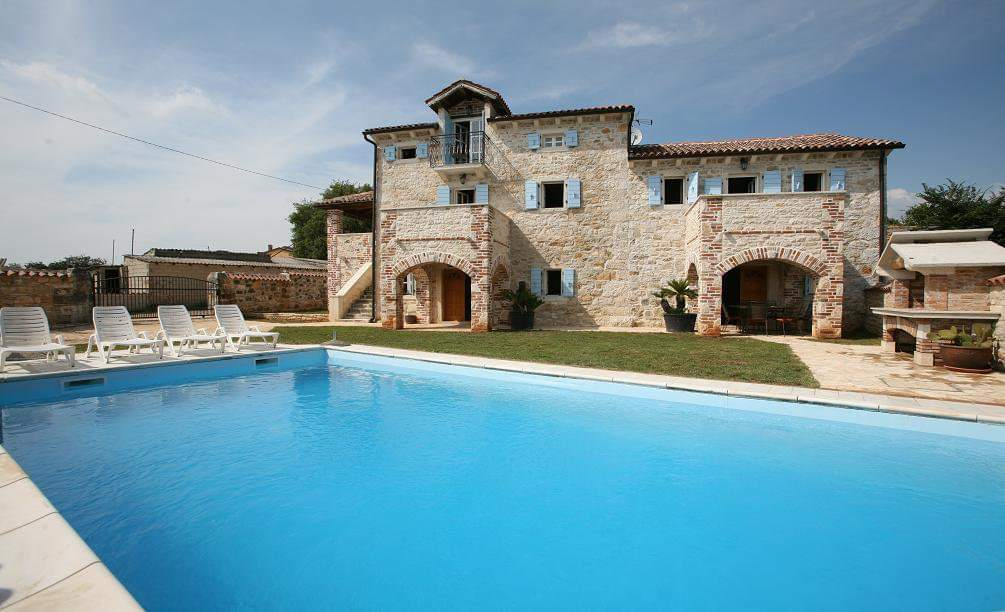 Stone villas Istria Farkaš, for sale, luxury stone villa with pool, Poreč, surroundings, 1