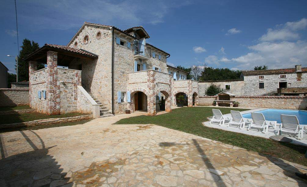 Stone villas Istria Farkaš, for sale, luxury stone villa with pool, Poreč, surroundings, 2