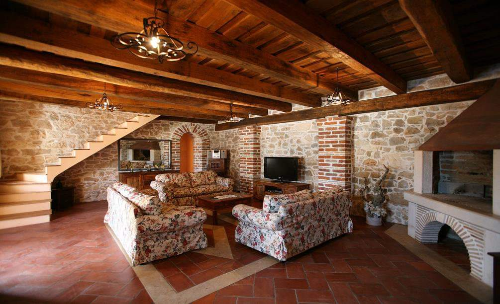 Stone villas Istria Farkaš, for sale, luxury stone villa with pool, Poreč, surroundings, 3