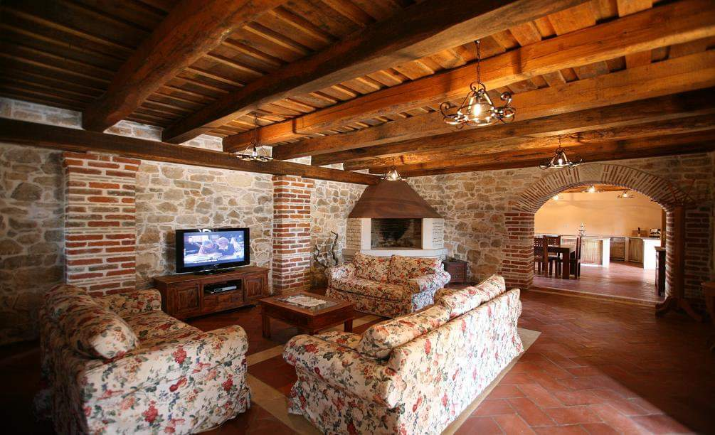Stone villas Istria Farkaš, for sale, luxury stone villa with pool, Poreč, surroundings, 5