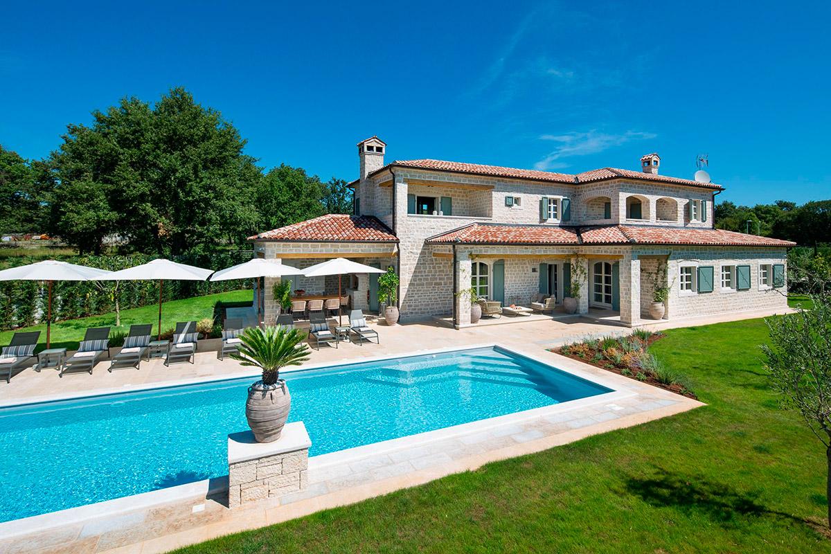 Stone houses Istria Farkaš sells new stone house with pool, poreč, surroundings