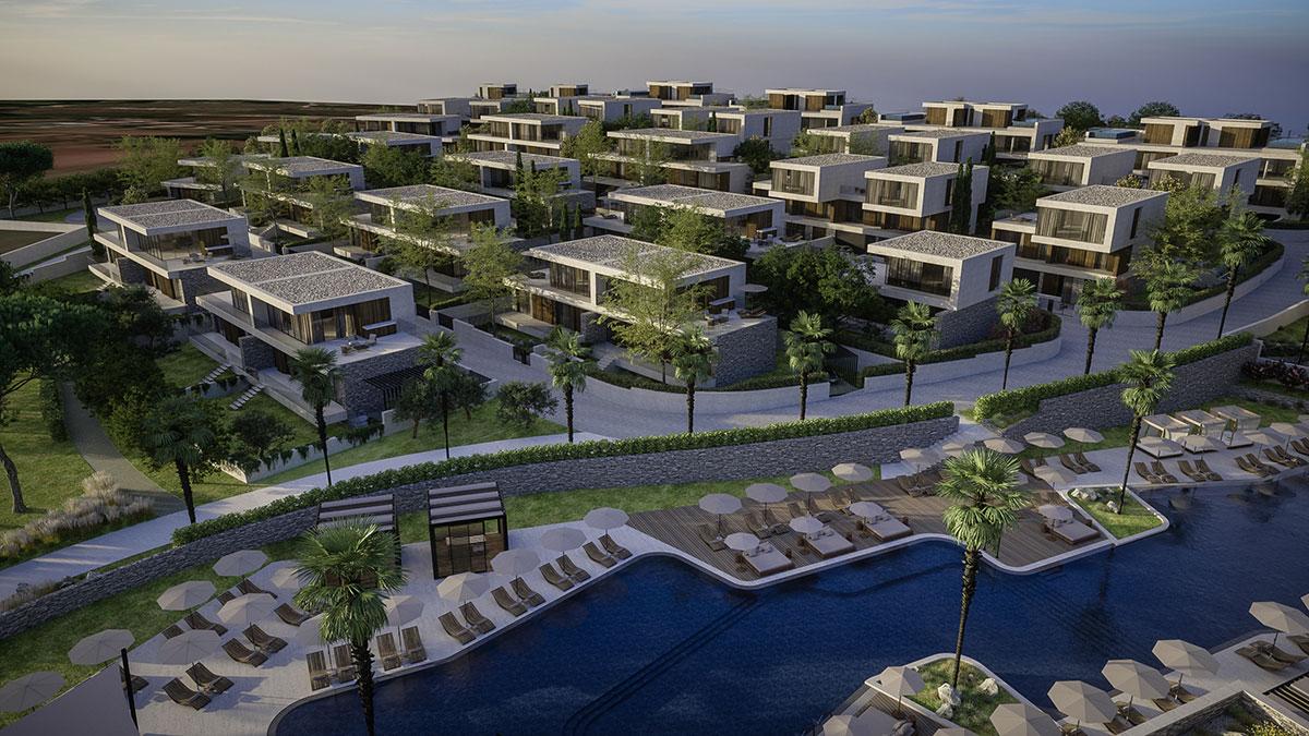 Häuser zum Verkauf in Istrien, neue villen mit pool, Luxusimmobilien Farkaš