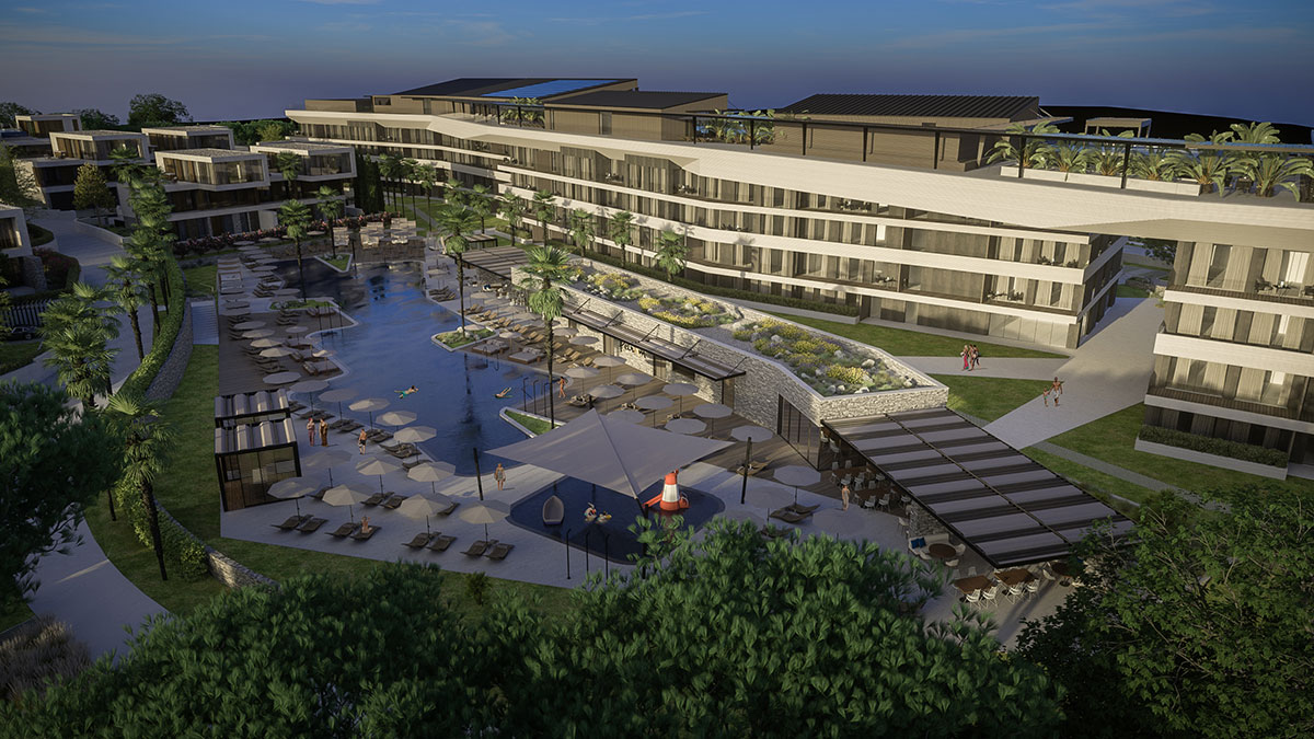 Luxury real estate Farkas is selling an apartment in the family building of the new resort in Alberi, Istria, Croatia!