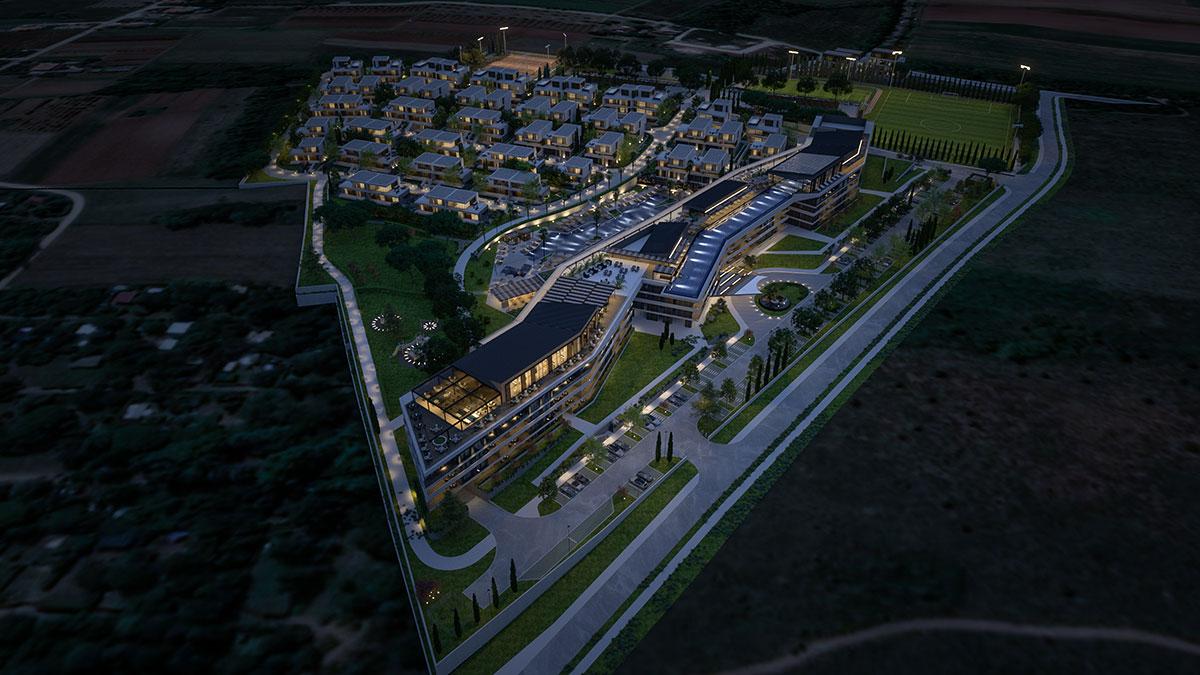 World luxury resorts Farkaš, Luxury resort in Istria. sale of villas and apartments