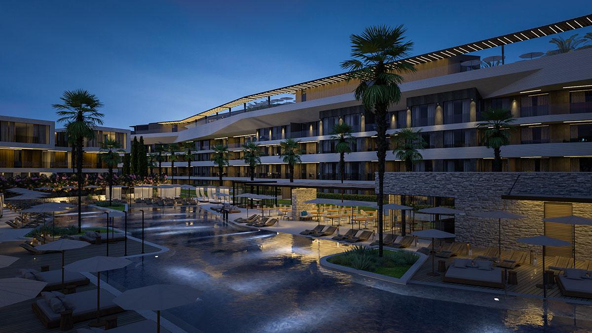 World luxury villas Farkaš, Luxury resort in Istria. sale of villas and apartments
