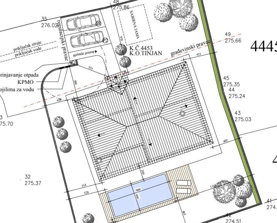 For sale, new ground floor stone house, Tinjan, 6