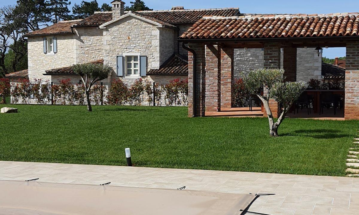Steinhäuser zu verkaufen Istrien, Farkaš immobilien, schöne steinhaus mit pool, Poreč umgebung, 3