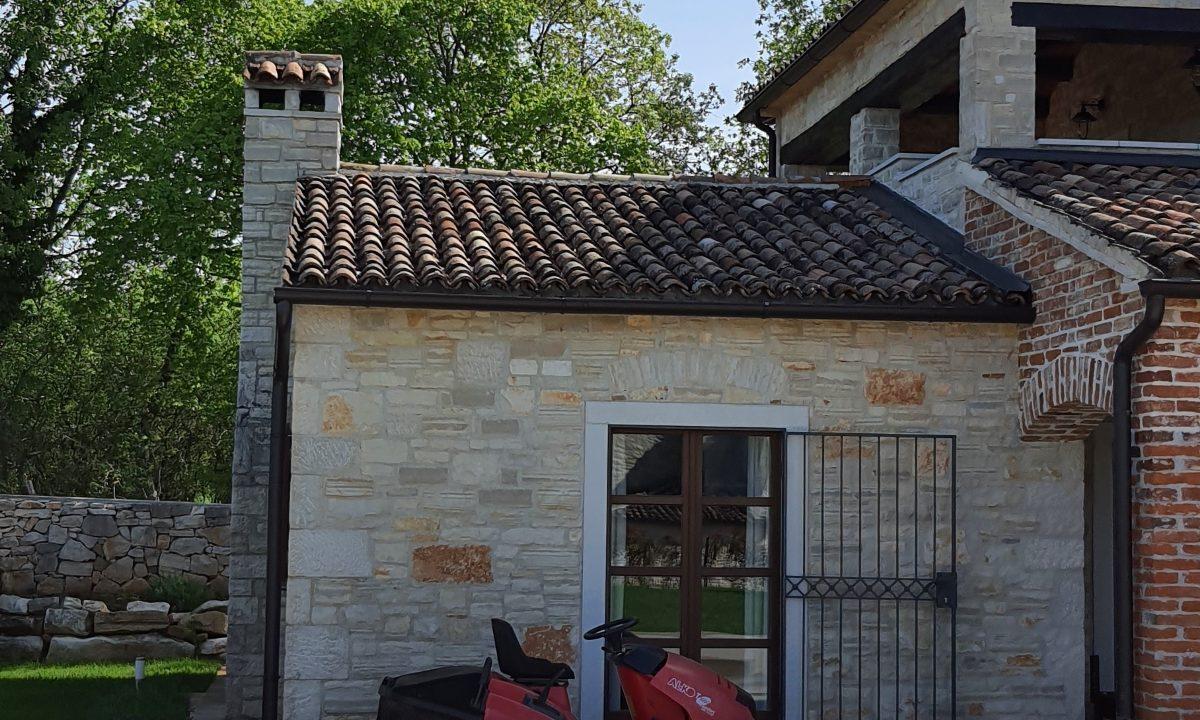 Steinhäuser zu verkaufen Istrien, Farkaš immobilien, schöne steinhaus mit pool, Tinjan umgebung, 1