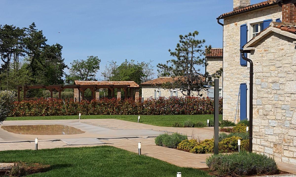 Steinhäuser zu verkaufen Istrien, Farkaš immobilien, schöne steinhaus mit pool, Tinjan umgebung, 4