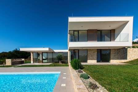 Farkaš luxury real estate, villa with swimming pool, sea view, Istria, Croatia 2