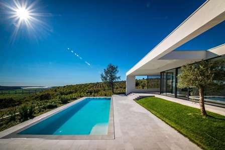 Farkaš luxury real estate, villa with swimming pool, sea view, Istria, Croatia 5