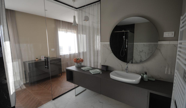 Haus istrien kaufen, Luxusimmobilien Istrien Farkaš, villa mit pool neben Višnjan, 14