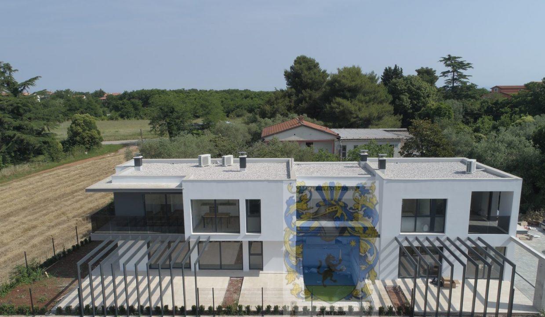 Wohnungen istrien kaufen, neue wohnung 600 m von meer entfernt, Umag Umgebung, Luxus wohnungen Istrien Farkaš, 1