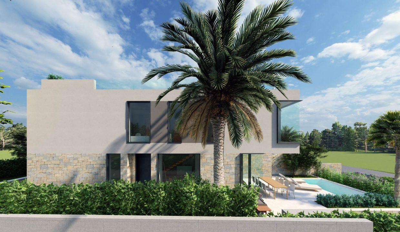 neue moderne villa mit pool zu verkaufen, porec, luxusimmobilien istrien farkas, 10