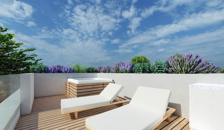 neue moderne villa mit pool zu verkaufen, porec, luxusimmobilien istrien farkas, 14