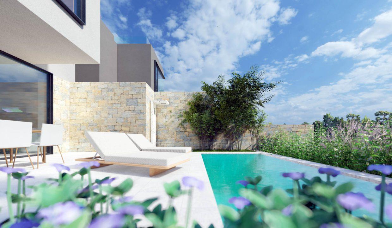 neue moderne villa mit pool zu verkaufen, porec, luxusimmobilien istrien farkas, 16