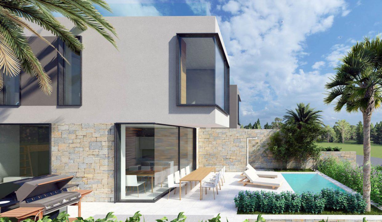 neue moderne villa mit pool zu verkaufen, porec, luxusimmobilien istrien farkas, 17