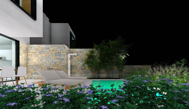 neue moderne villa mit pool zu verkaufen, porec, luxusimmobilien istrien farkas, 3
