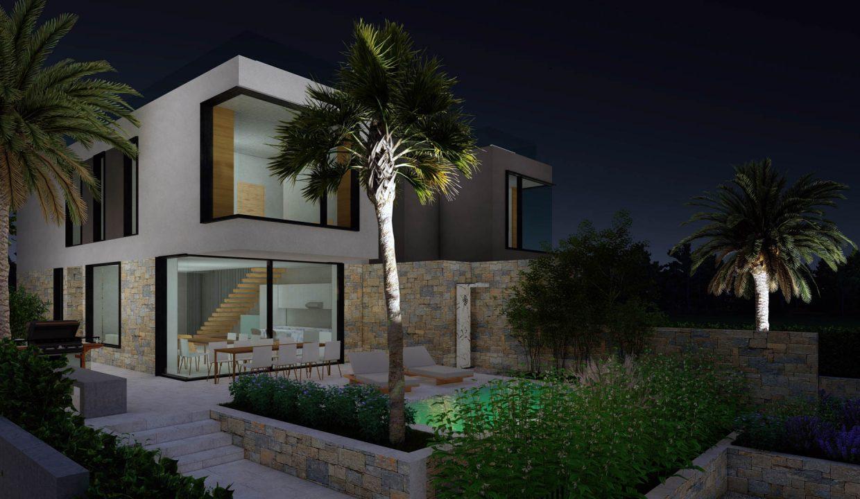 neue moderne villa mit pool zu verkaufen, porec, luxusimmobilien istrien farkas, 4