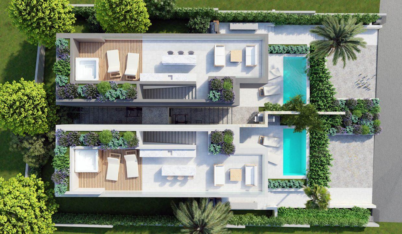 neue moderne villa mit pool zu verkaufen, porec, luxusimmobilien istrien farkas, 5