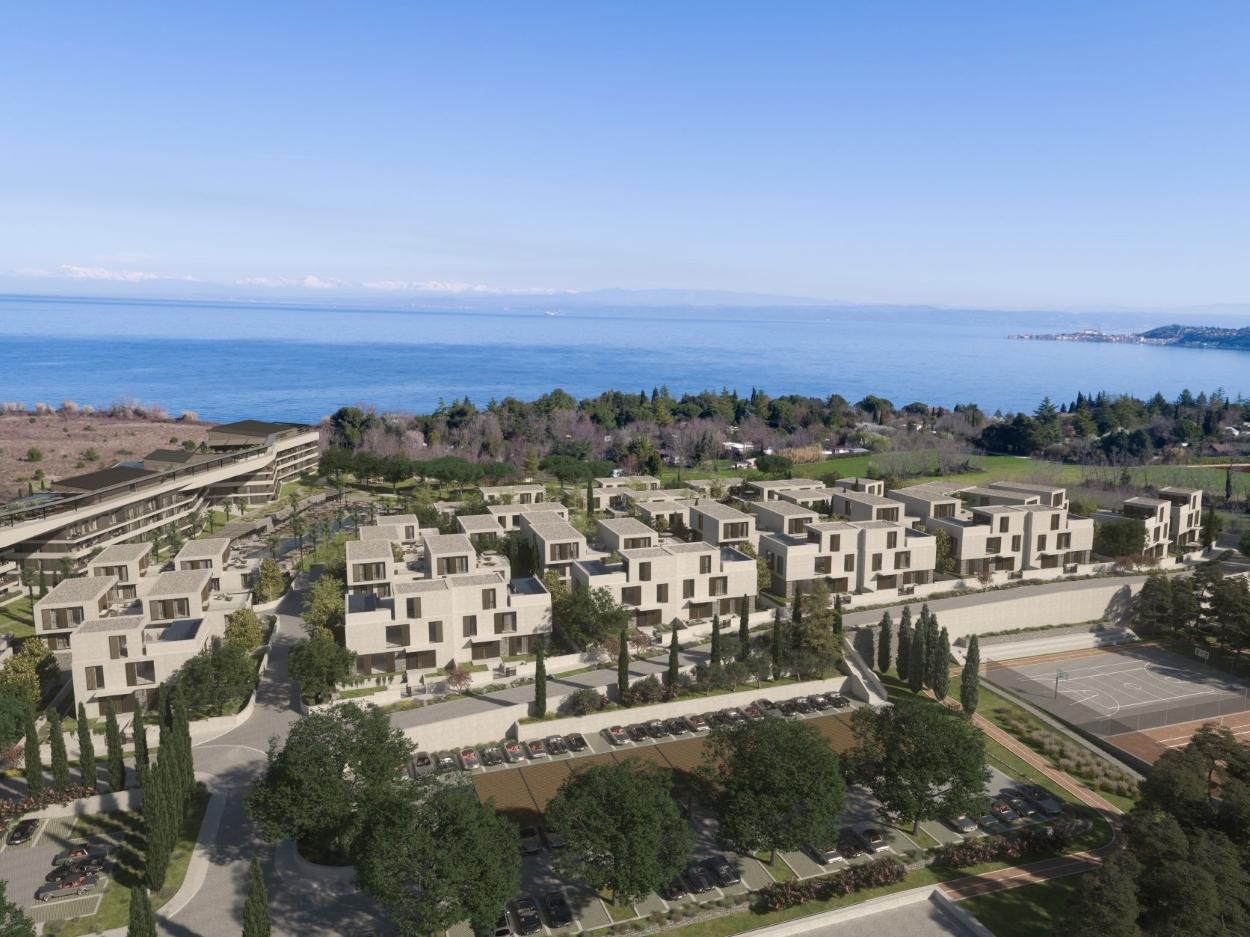 Top-Angebot! Wohnung zu verkaufen in neuem 5-Sterne-Resort in der Nähe von Umag