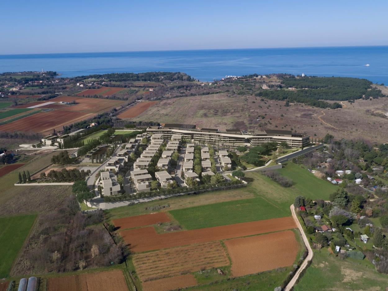 Unique offer! Villas for sale in new resort in Croatia, Istria, Umag