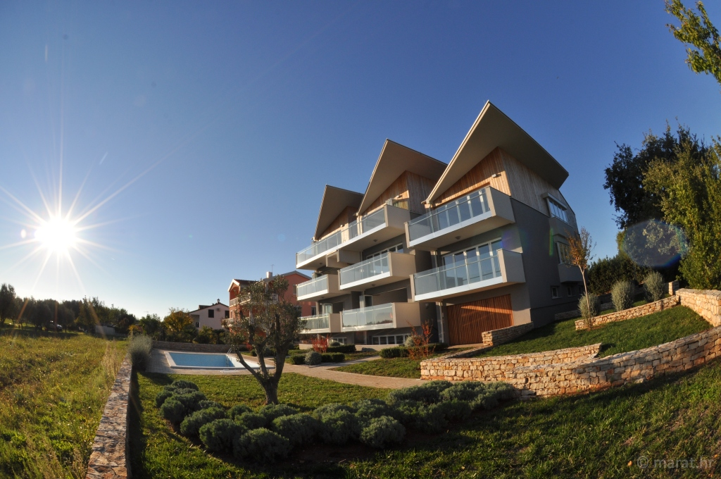 Farkaš luxury real estate Istria, Apartment with sea view, Zambratija