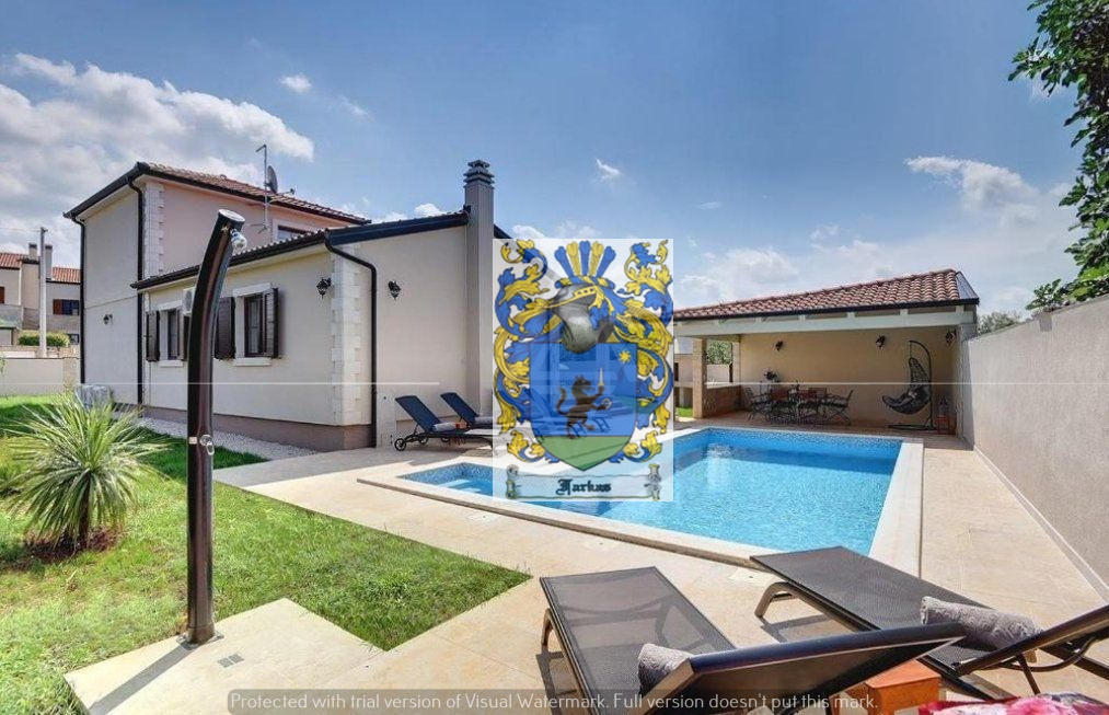 New offer! Stylishly decorated Istrian Villa with pool near Poreč for sale