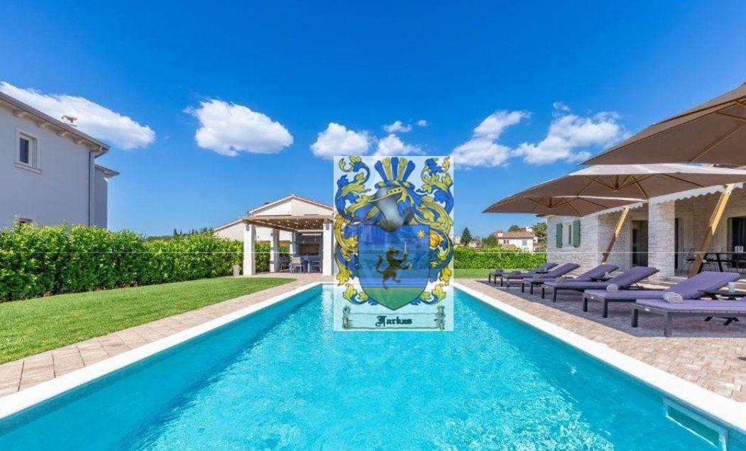 New villas for sale Istria, Real estate agency Farkaš, new villa with pool near Poreč
