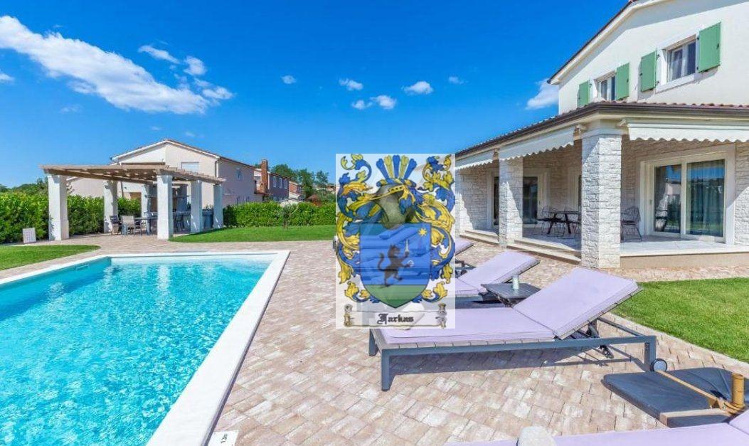 New villas for sale Istria, Real estate agency Farkaš, new villa with pool near Poreč, 3