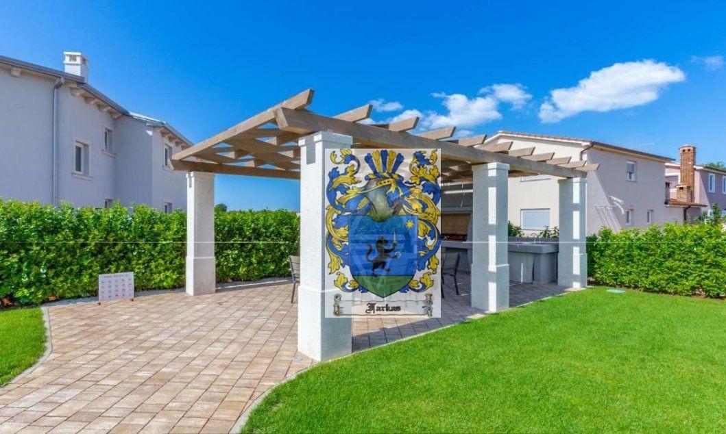 New villas for sale Istria, Real estate agency Farkaš, new villa with pool near Poreč, 8